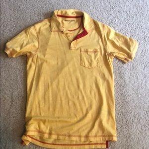 Johnston&Murphy yellow polo